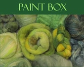 Artists' Paint Box MOSS Ltd Edition 5 oz of Fiber from Assorted Spindies Artists