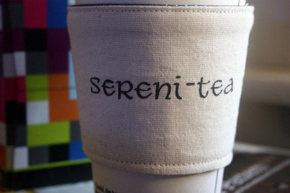 Sereni-tea cup cozy
