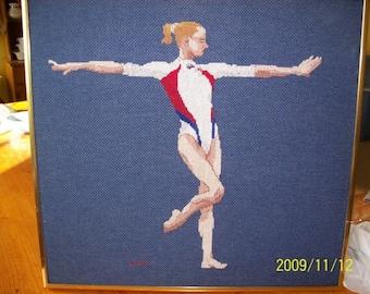 Gymnast Cross-Stitch, Svetlana Khorkina