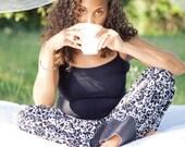 B&W Pajama Pants for Women