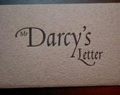 Mr Darcy's Letter