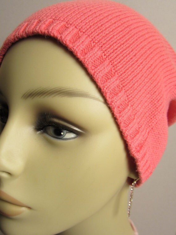 Peachy Recycled Sweater Beanie