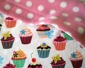 Kawaii Cakes Baby Toddler Blanket for stroller or sofa