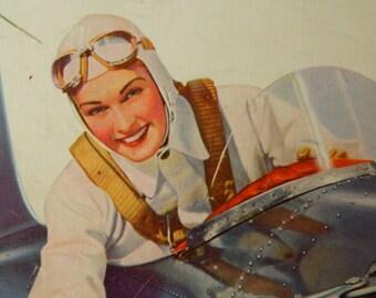 Fly Girl Clipboard