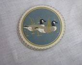 Retro Canada Goose Vintage Paper Coasters Use for Paper Crafts or Collages
