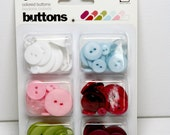 MOVING SALE 50% OFFBasic Grey Buttons - Eskimo