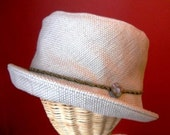 Summer Khaki Bucket Hat - Large