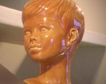 Holland mold, boy's bust / head
