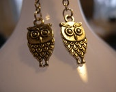 Owl Charm Earrings