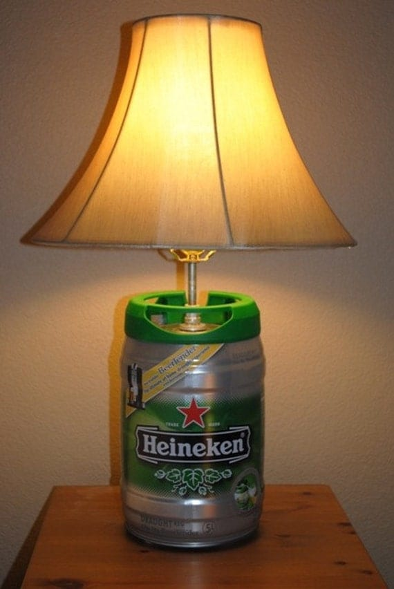 Mini Keg Beer Lamp light desk or table lamp holiday item