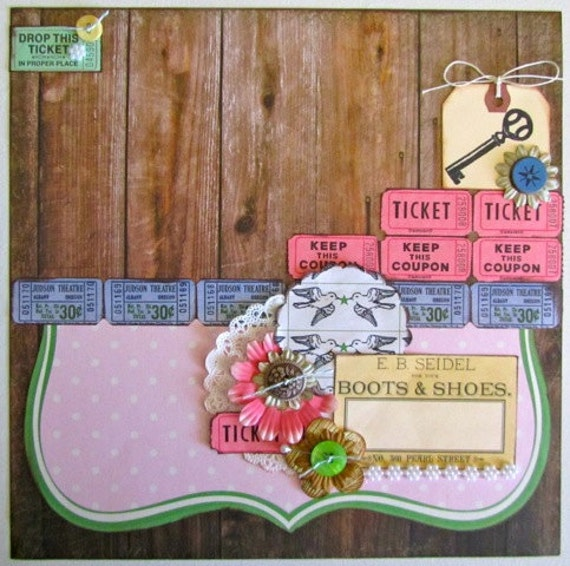 Country Charm 12x12 tammy i PreMade Page