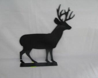 Deer 001 Mailbox Topper Metal Wildlife Wall Art Silhouette