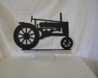 Tractor 039 Mailbox Topper Metal Farm Wall Art Silhouette