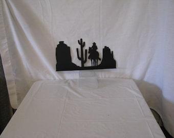Scenic Arizona Mailbox Topper Metal Wall Yard Art Silhouette