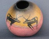 Sacred Hunting Ground - gourd vase