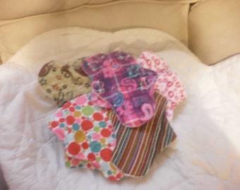 Set of 10 regular 9 inch mama pads