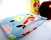 Reusable Snack Bag Eco Friendly - Apples and Pears -