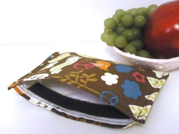 Reusable Snack Bag Eco Friendly - Nature -
