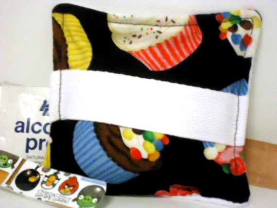 Hot or Cold Pack Boo Boo Bag with Handle - Cupcakes -