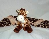 Giraffe Animal Blanket Lovie