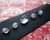 Ice Cubes Leather Bracelet