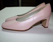 EASTER SUNDAY pink pumps   Bandolino made in spain 8m