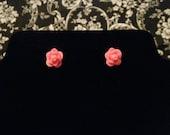 Salior Jupiter Inspired Rose Earrings