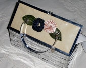 Vintage Metal Box Purse - too cool