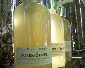 Super-Simple Organic Facial Wash..Paraben And Sulfate Free