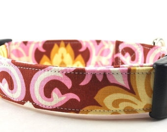 The Charlotte - Floral Dog Collar