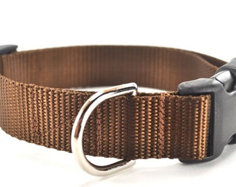 The Plain Jane - Nylon Dog Collar