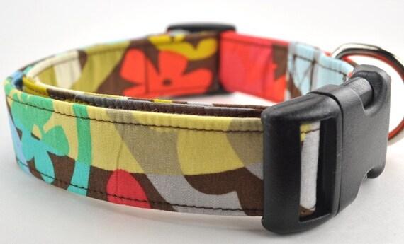 Multicolored Dog Collar - The Maggie