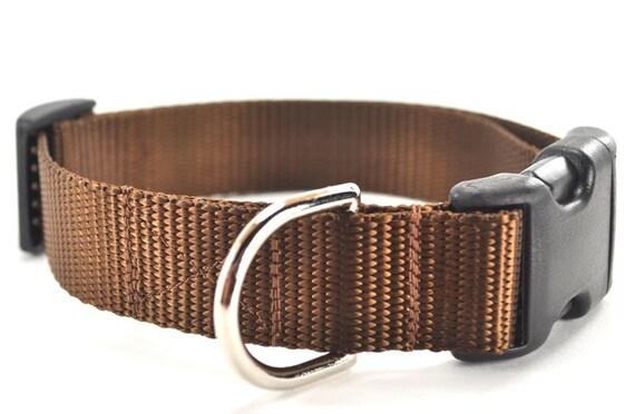 The Plain Jane - Nylon Dog Collar