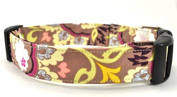 The Bohemian - Floral Dog Collar