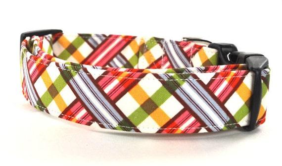 Plaid Dog Collar - The Beazley