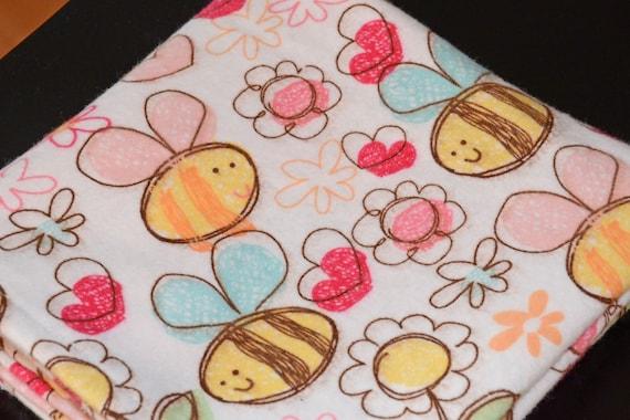 Receiving Blanket - Bumble Bees