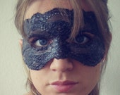 Lace mask - Dark Brown