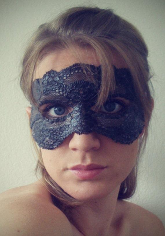 Lace mask - Dark Brown