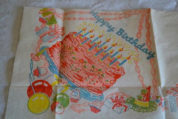 Vintage Birthday Set