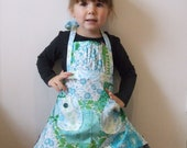Small girl\/Toddler apron with gathered detail