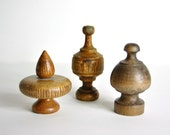 Vintage Collection of Wood Finials