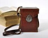 Vintage Leather Camera Case
