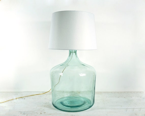 Antique Carboy Table Lamp