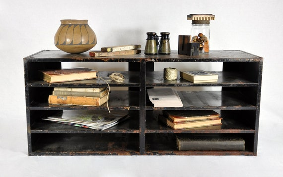 RESERVED - Vintage Large Industrial Cabinet