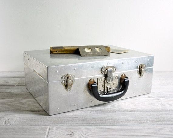 Vintage Metal Box / Industrial Storage