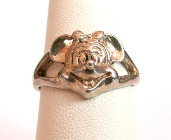Sterling Silver Minnie Mouse Ring