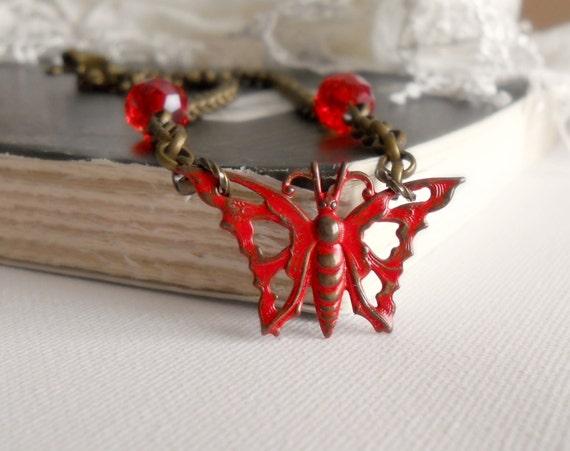 CLOSING OUT SALE - Last Chance - Papillon Whisper Necklace