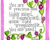 Notecards Tiny You are Loved Believe It