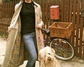Vintage 1985 Burberrys Khaki Trench Coat