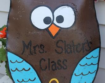Owl Door Decoration